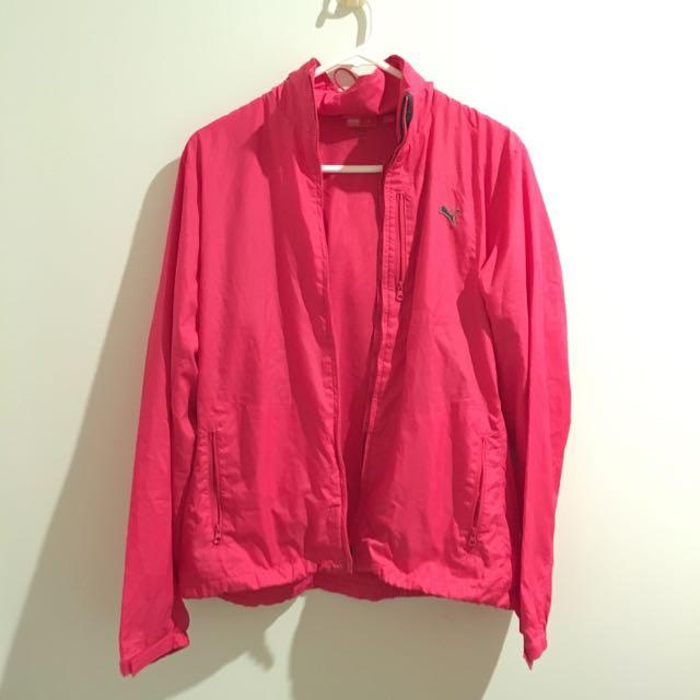 Hot Pink Puma Sport Jacket