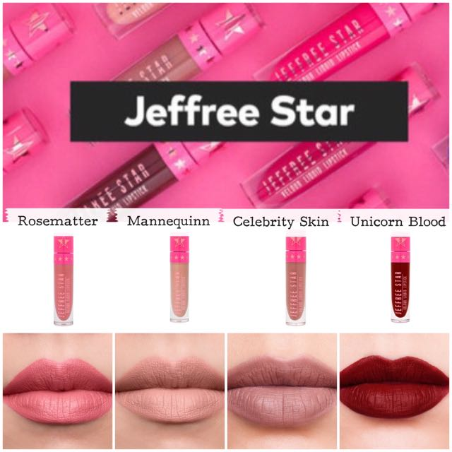 Ready Stock Jeffree Star Lipstick