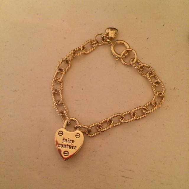 Juicy Couture Gold Chain Bracelet