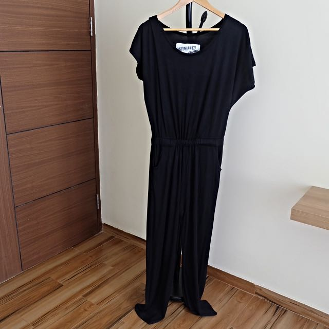Kidnapped Ally Black Jumpsuit