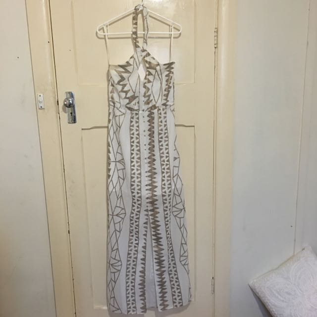 Lumier By Bariano Maxi Dress, Size L Worn Once