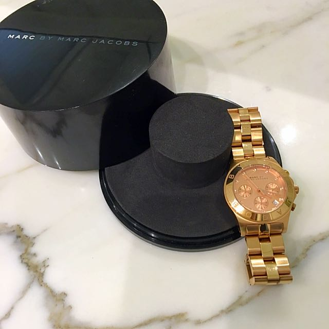 Marc By Marc Jacobs Rose Gold Watch