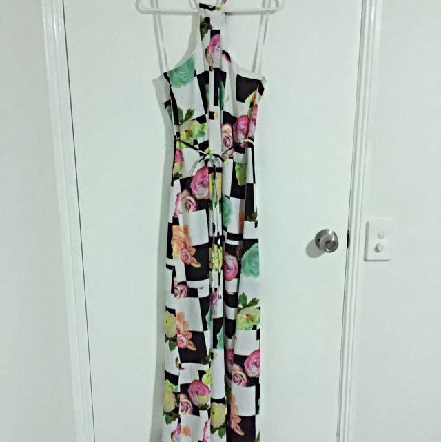 Minti Meet Munt Maxi Dress