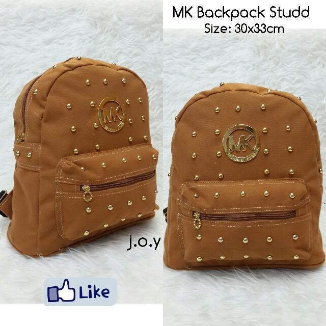 MK Backpack Studd