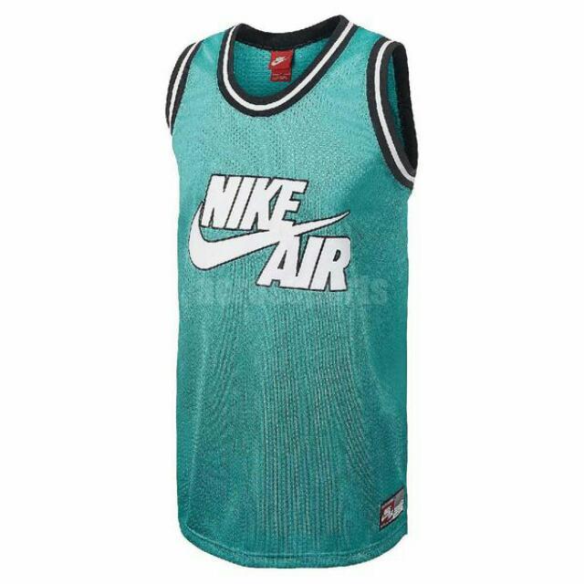 Nike Jersey Basketball Tank 籃球 背心 男款 綠 689134-405 XL