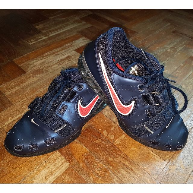 6f8552957a63 NIKE ROMALEOS 2 WEIGHTLIFTING SHOES US 9.5