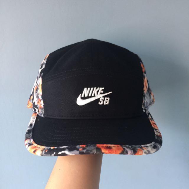 Nike SB Iconic 5 Panel Digi Floral Cap 207fa277431