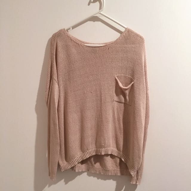 Pink H&M Knit Sweater