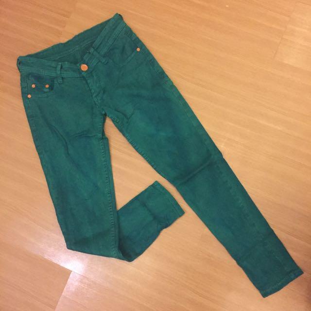 Preloved Jeans Hermes Green