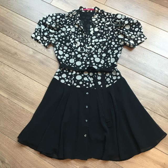 Rosebullet雪紡圓點氣質洋裝