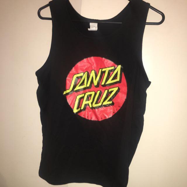 Santa Cruz Singlet Size S
