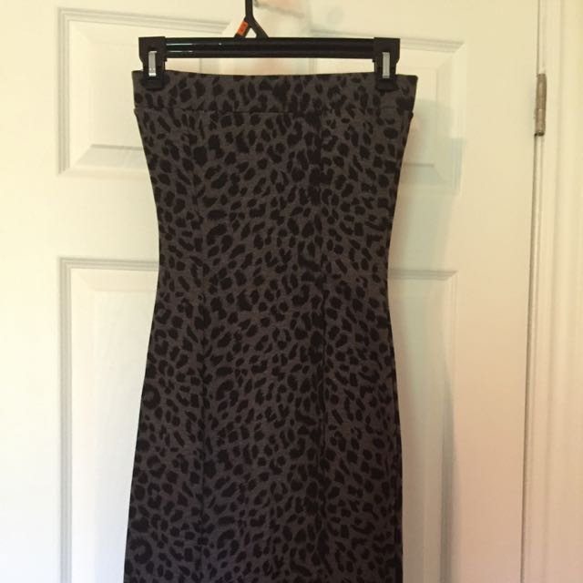 Snug Leopard Spot Dress