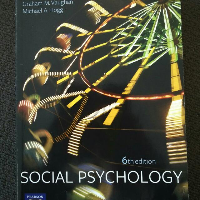 Social Psychology -  Vaughan And Hogg