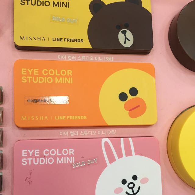 Sold Out Missha Eye Colour Studio Mini