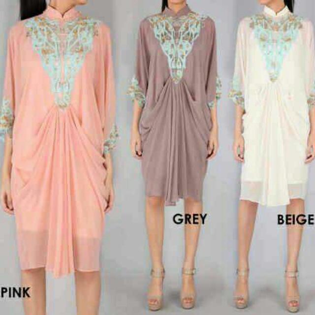 Sole Mio Dress Pink Sz S