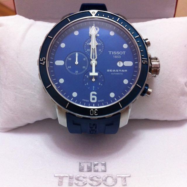 TISSOT 重量級錶款 Seastar系列 機械錶
