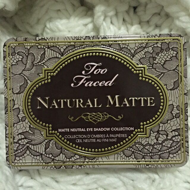 Too Faced Natural Matte Eyeshadow