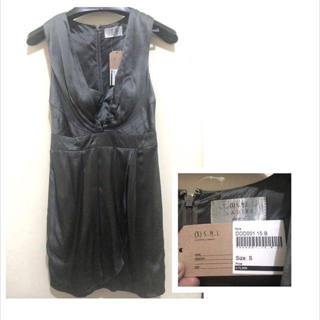(x)S.M.L Grey Dress