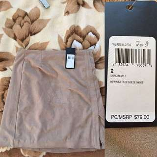 Guess Sued Skirt