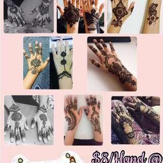 $8 Henna Service