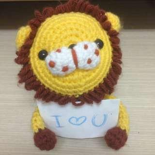 可愛針織小獅子🦁️