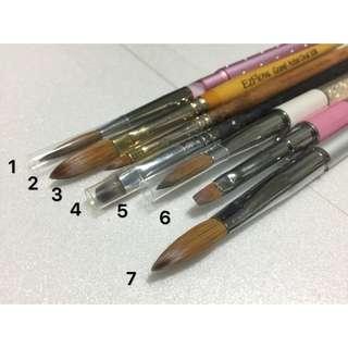 水晶筆/光療筆/粉雕筆