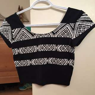 Garage Crop Top PRICE NEGOTIABLE