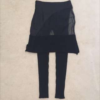 Dolci And Gabbana Pants W/ Skirt attached