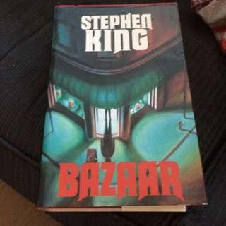 stephen king bazaar