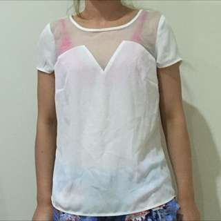 Hot Options Top Size 8