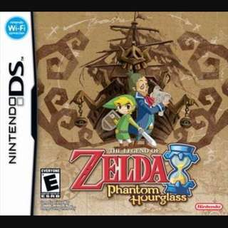 WTB: Legend Of Zelda DS Games