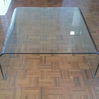 SICA Italian Glass Coffee Table