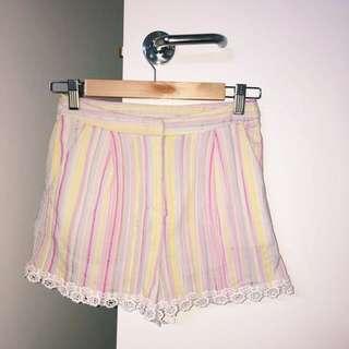 Sabo* High Waisted Shorts