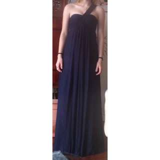 Beatriz Da Silva Navy Dress