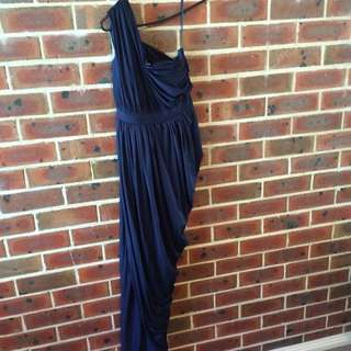 Navy Formal Dress, Size 14