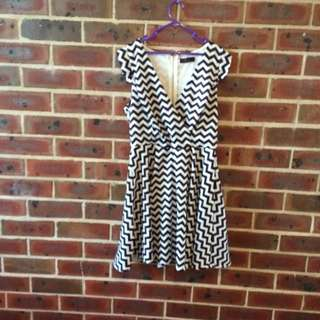 Stripy Dress, Size 14