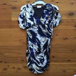 Crossroad Scrunch Dress