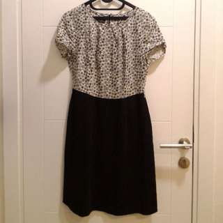 dress motif black
