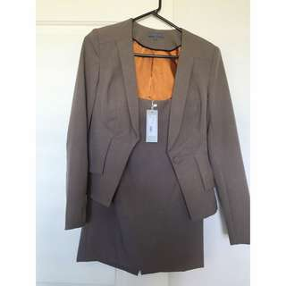 Brown Sheike Suit