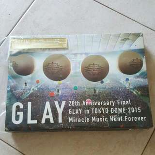 Glay 20th Anniversary Final Glay In Tokyo Dome 2015 - Blu - Ray