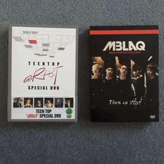 MBLAQ / TEEN TOP MAKING OF DVD