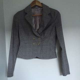 Grey Jacket Perfect For Work
