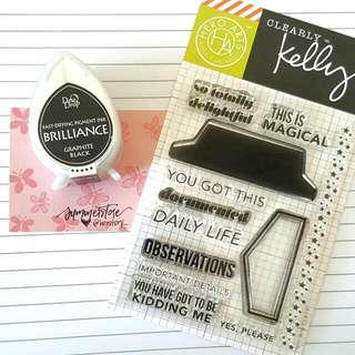 BN Clearly Kelly Stamp Set