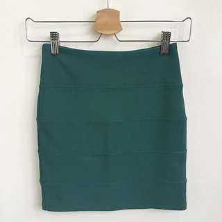 [FREE POST] Topshop Emerald Skirt
