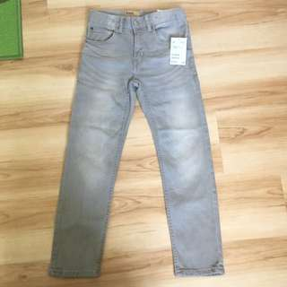 H&M Denim Slim For Jeans For Kids 6-7 With Tag