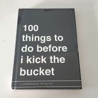 Typo's Bucket List Book