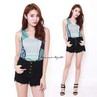 [FREE POST] Diamond Mojitto Top