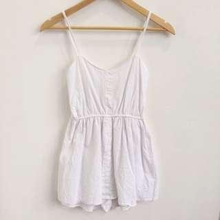 [FREE POST] White Jumpsuit