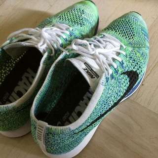 US 9 Authentic Nike Racer Green Strike *Cheap*