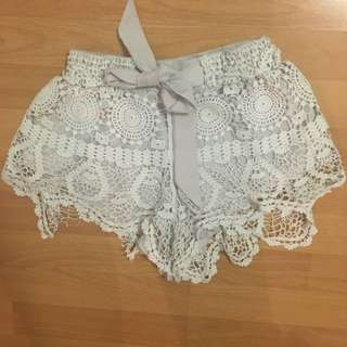 Sabo Skirt Crochet Shorts